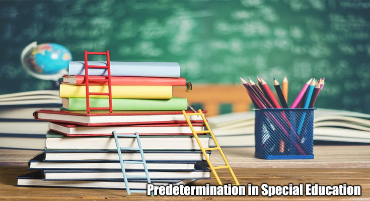 Predetermination in Special Education - What Can you Do About It?